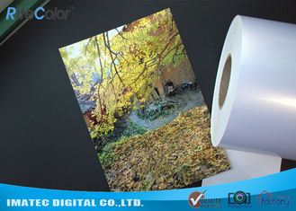 Chiny High Glossy Metallic Inkjet Media Supplies 260gsm Resin Coated Inkjet Photo Paper fabryka