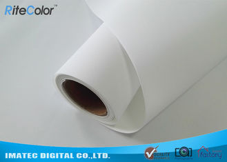 Chiny 300D×300D Matte Polyester Canvas Fabric Roll For Wide Format Printers dostawca