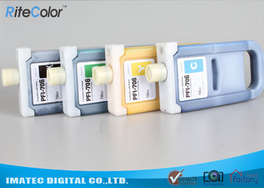 Chiny Pigment Based Wide Format Inks , PFi-706 Plug And Print Inkjet Ink Cartridge fabryka