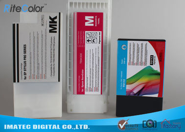 Chiny Industry Printing 350Ml Wide Format Inks , Epson 7900 / 9900 Printer Compatible Ink Cartridges dostawca