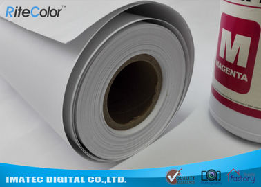 Chiny Wide Format Paper Rolls Inkjet Premium Matte Coated Paper Water Resistance fabryka
