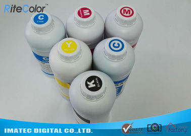 One Liter Waterbased Dye Sublimation Printer Ink For Epson / Roland / Mimaki Printers