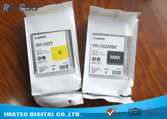 Original Genuine Canon PFI-102 Wide Format Inks Tank Lucia Inks for Canon iPF500 iPF600 iPF750