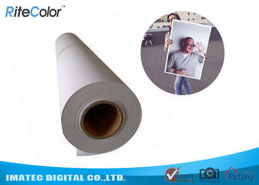 240 g / m² Wodny papier fotograficzny RC Lustre Photo Paper / Inkjet Photo Roll