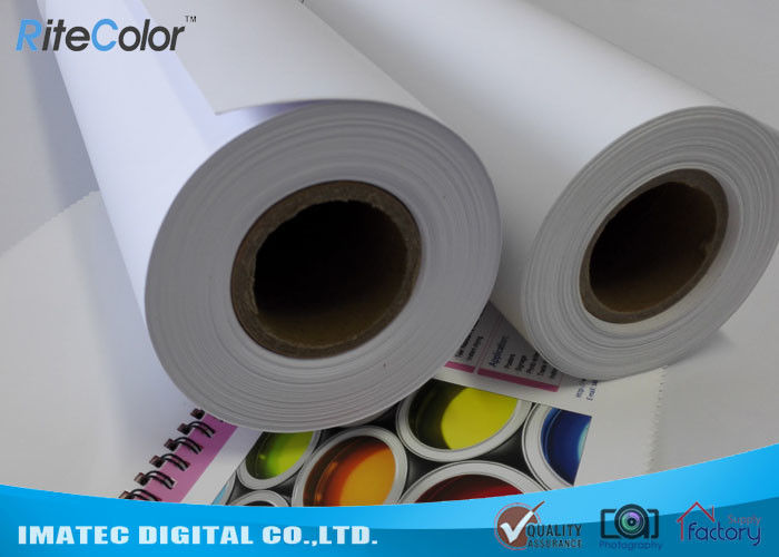 Inkjet Matte PP Synthetic Paper , Poster Tear resistant Paper 8mil Thickness