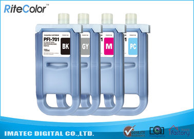 Chiny Large Format Inks 700Ml Compatible Ink Cartridges For Canon iPF8000 / 8000S dystrybutor