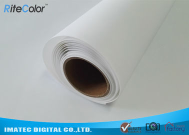 Chiny Large Format Matte Polyester Canvas Rolls For Art Inkjet Digital Printing dystrybutor