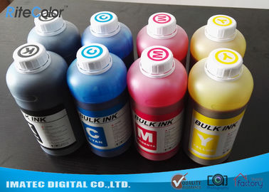 Chiny TFP Printhead Sublimation Printer Ink , Epson / Mimaki Printers Dye Sub Ink 1 Liter fabryka