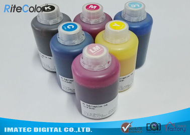 Chiny DX-7 Printer Head Dye Sublimation Heat Transfer Ink For T Shirt Printing 1.1kgs Per Bottle fabryka