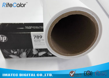 Chiny Latex Media Pure Polyester Canvas Roll For Large Format Printers dystrybutor